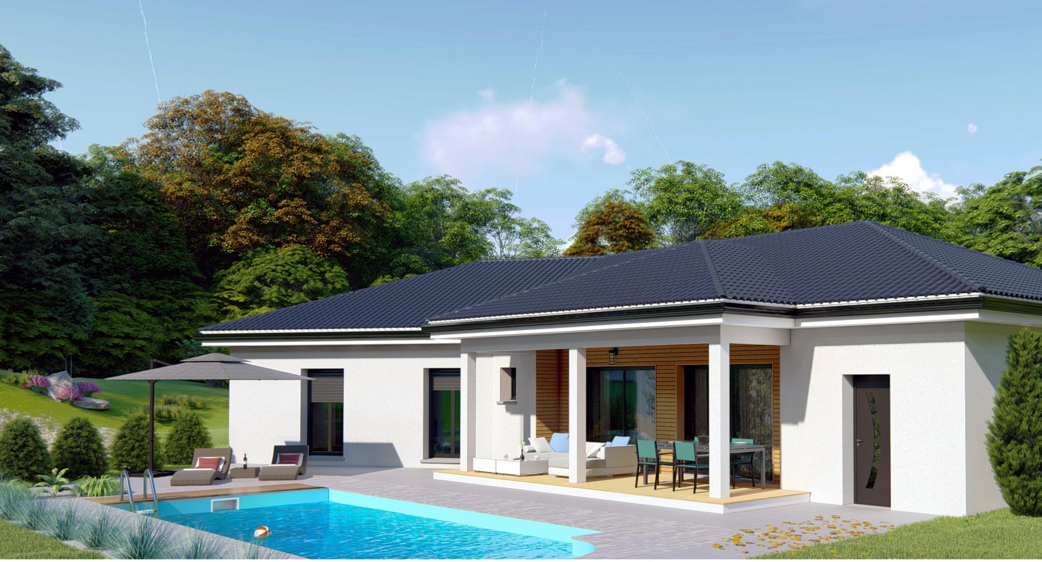 Vente maison belley 01300 sur le partenaire for Simulation pret foncier